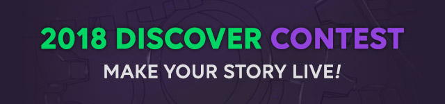 2018 Discover Contest. Make Your Story Live!