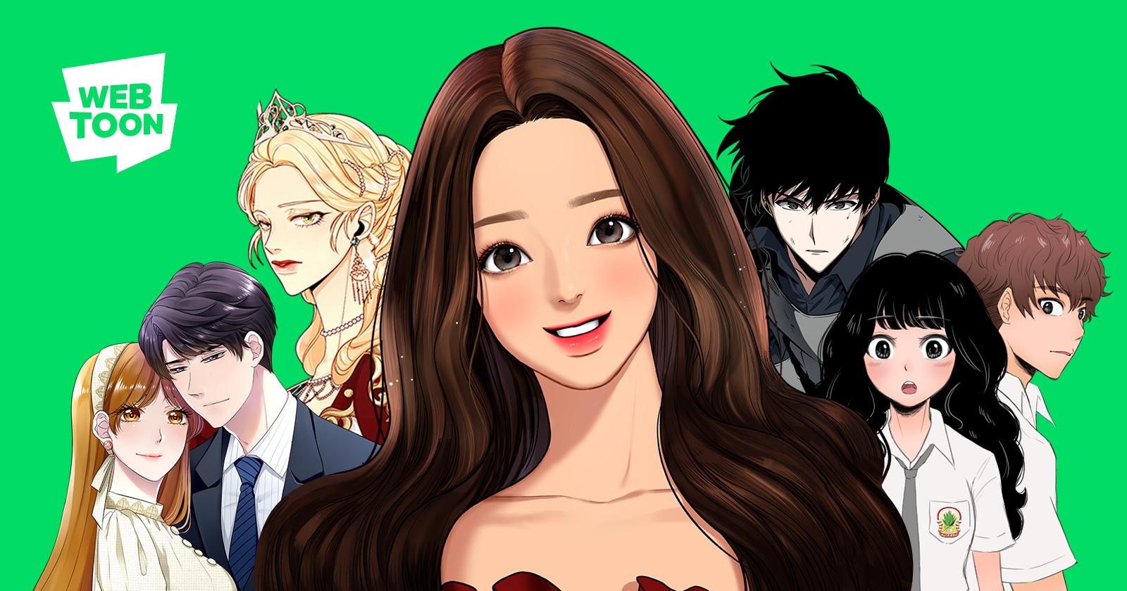 Line Webtoon Global Digital Free Comics Service Platform
